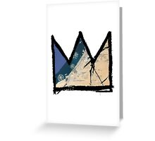 "Basquiat ""King of Dubai UAE"" Greeting Card"