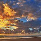 Stormy Sunset by Johnathan Bellamy