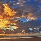 Stormy Sunset by bertie01