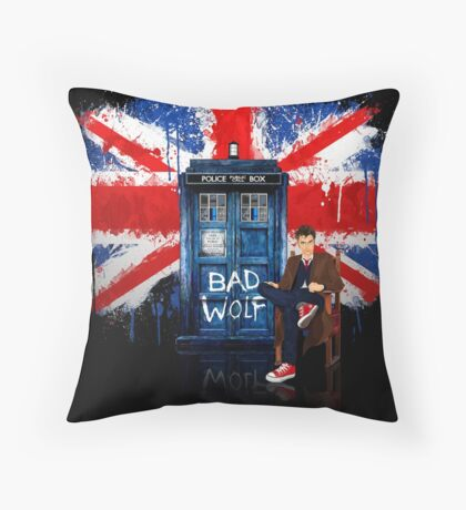 The King Of All Doctor Throw Pillow