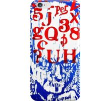 He Has A Lot On His Mind iPhone Case/Skin
