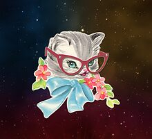 space cat by tiffanyo