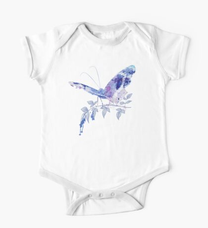 butterfly ink One Piece - Short Sleeve