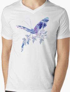 butterfly ink Mens V-Neck T-Shirt