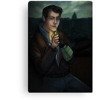 Fallout: Butch in Rivet City Canvas Print