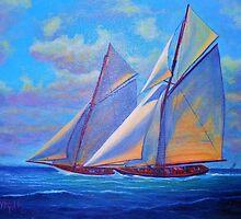 January Sails by jyruff