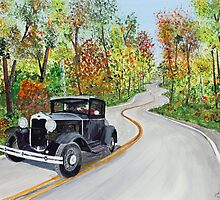 Cruising Door County Wisconsin by Jack G Brauer