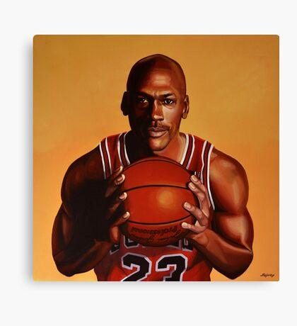 Michael Jordan painting 2 Canvas Print