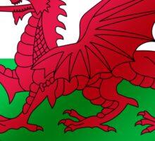 Welsh Flag - Wales - Heart Sticker
