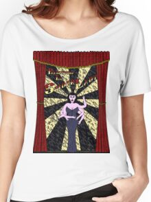 The Spider Lady Takes The Stage (Sticker) Women's Relaxed Fit T-Shirt