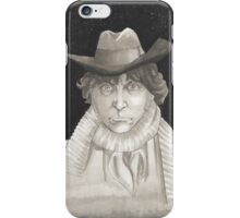 The 4th Doctor Tom Baker iPhone Case/Skin
