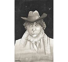 The 4th Doctor Tom Baker Photographic Print