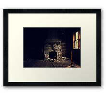 If these walls could talk.... Framed Print