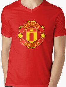 Hermits United Mens V-Neck T-Shirt