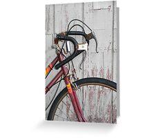 Abandoned Bike Greeting Card