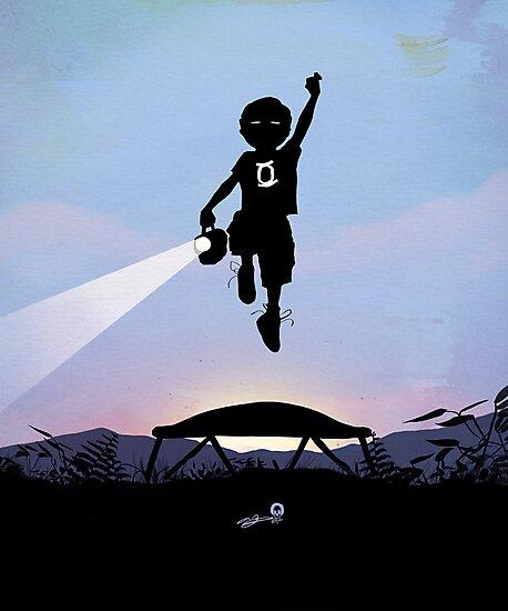 Green Lantern Kid by AndyFairhurst