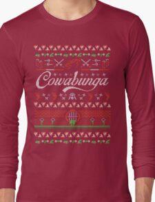 Cowabunga Christmas Long Sleeve T-Shirt