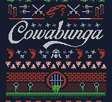 Cowabunga Christmas by DJKopet