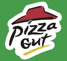 Pizza Gut - Parody Shirt Baby Tee