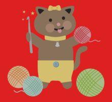 Cute kawaii kitty cat crochet hook Kids Clothes