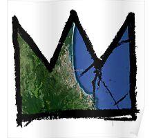 "Basquiat ""King of Gold Coast Australia"" Poster"