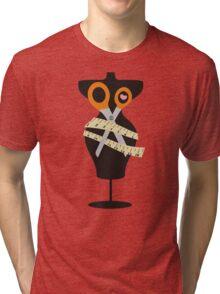 dress dummy sewing mannequin scissors Tri-blend T-Shirt