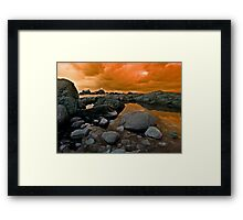 A view of Corbiere Jersey Framed Print