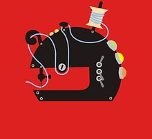 Groovy mod sci-fi sewing machine black T-Shirt