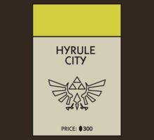 Hyrule City Monopoly (The Legend of Zelda) by WalnutSoap