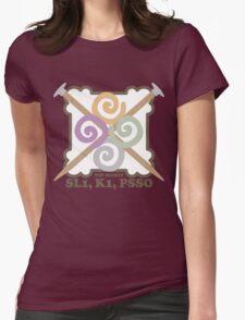 Secret code knitting needles yarn emblem T-Shirt