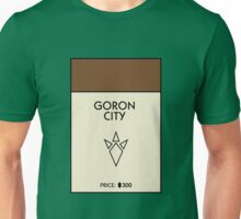 Goron City Monopoly (The Legend of Zelda) Unisex T-Shirt