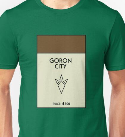 Goron City Monopoly (The Legend of Zelda) T-Shirt