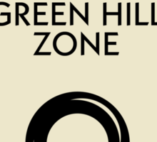 Green Hill Zone Monopoly (Sonic the Hedgehog) Sticker