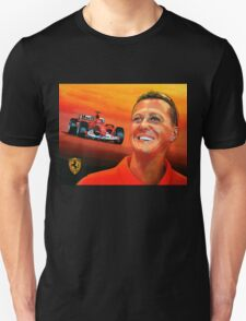 Michael Schumacher painting T-Shirt