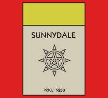Sunnydale Monopoly (Buffy the Vampire Slayer) by WalnutSoap