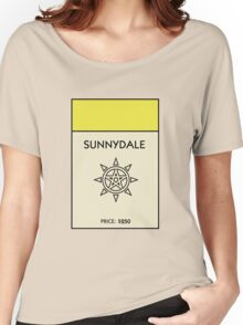 Sunnydale Monopoly (Buffy the Vampire Slayer) Women's Relaxed Fit T-Shirt