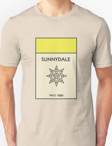Sunnydale Monopoly (Buffy the Vampire Slayer) T-Shirt