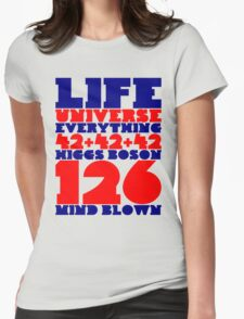 Mind Blown Womens Fitted T-Shirt
