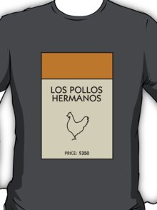 Los Pollos Hermanos Monopoly (Breaking Bad) T-Shirt