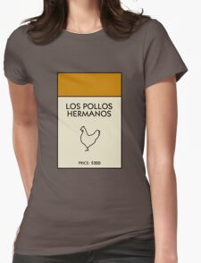 Los Pollos Hermanos Monopoly (Breaking Bad) Womens Fitted T-Shirt