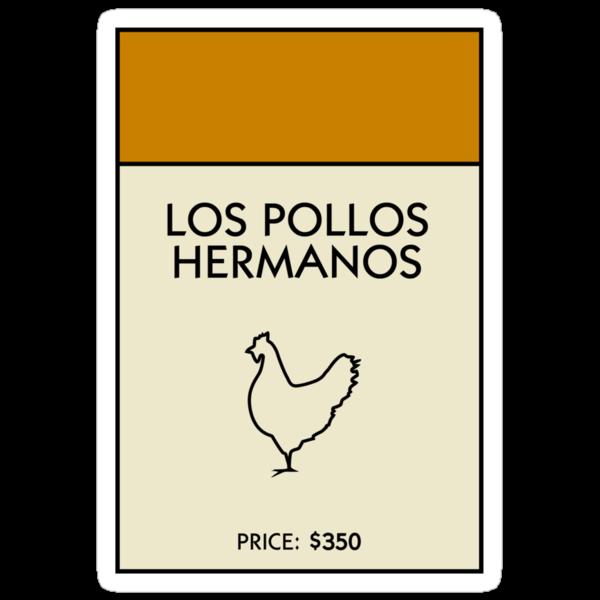 Los Pollos Hermanos Monopoly (Breaking Bad) by WalnutSoap