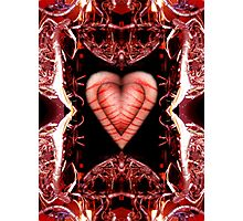 Heart shaped box Photographic Print