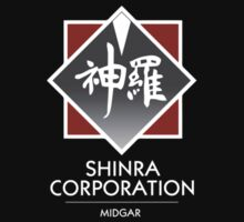Shinra Corporation - Pocket Print by WalnutSoap