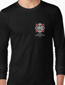 Shinra Corporation - Pocket Print Long Sleeve T-Shirt