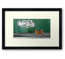 The Graffiti Artist  Framed Print