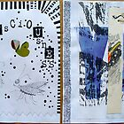 another Sketchbook Project spread by avalyn