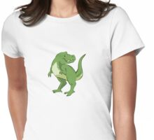 Tyrannosaurus Womens Fitted T-Shirt
