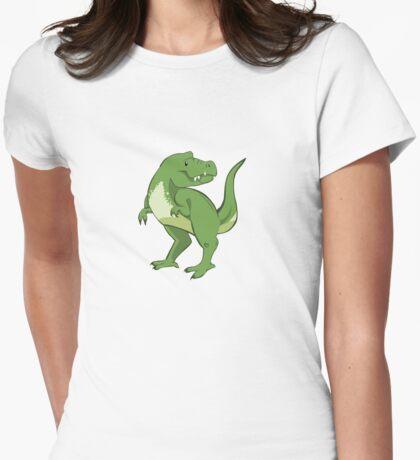 Tyrannosaurus Womens Fitted T-Shirt