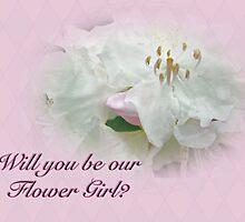 Flower Girl Request - White Azalea by MotherNature