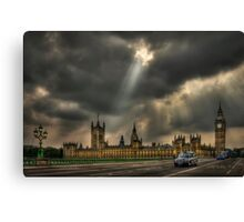 An Ode To England Canvas Print